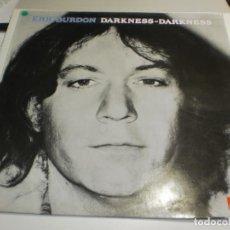 Discos de vinilo: LP ERIC BURDON. DARKNESS-DARKNESS. POLYDOR 1989 SPAIN (PROBADO Y BIEN, SEMINUEVO). Lote 209387385
