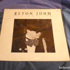 Discos de vinilo: LP ELTON JOHN ICE ON FIRE 1985 ESPAÑOL BUEN ESTADO. Lote 209387827