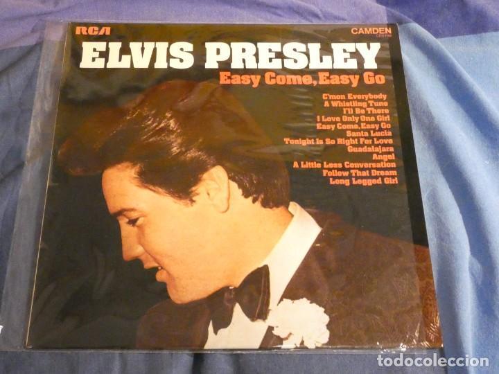 LP ELVIS PRESLEY EASY COME EASY GO AÑOS 70 BUEN ESTADO (Música - Discos - LP Vinilo - Pop - Rock Internacional de los 50 y 60)