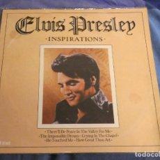 Discos de vinilo: LP ELVIS PRESLEY AÑOS 70 BUEN ESTADO INSPIRATIONS. Lote 209388308