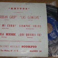 Discos de vinilo: SINGLE VINILO, PROMO, ORQUESTA ALCY AGÜERO, CARIBEAN GRUP, LAS GEMELAS,,.....,LUYTOM 1975. Lote 209389120