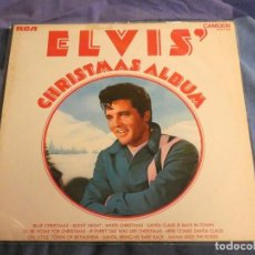 Discos de vinilo: LP ELVIS CHRISTMAS ALBUM UK 70S MUY BUEN ESTAD VINILO. Lote 209389658