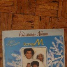 Discos de vinilo: BONEY M. – CHRISTMAS ALBUM SELLO: ARIOLA – PE - 0327 FORMATO: VINYL, LP SPAIN PUBLICADO: 1984. Lote 209391680