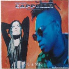 """Discos de vinilo: CAPELLA - U & ME [EXCLUSIVO Y DIFÍCIL DE CONSEGUIR] ELECTRONIC / TECHNO-HOUSE [ITALY 12"""" 45RPM] 1994. Lote 209394018"""