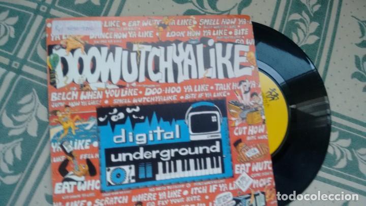 SINGLE ( VINILO) DE DIGITAL UNDERGROUND AÑOS 90 (Música - Discos - Singles Vinilo - Rap / Hip Hop)