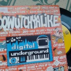 Dischi in vinile: SINGLE ( VINILO) DE DIGITAL UNDERGROUND AÑOS 90. Lote 209409505