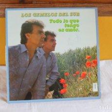 Discos de vinilo: LP LOS GEMELOS DEL SUR, TODO LO QUE TENGO ES AMOR, 1987. Lote 209411615