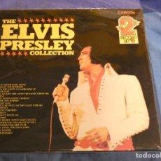 Discos de vinilo: DOBLE LP THE ELVIS PRESLEY COLLECTION BUEN ESTADO PRENSAJE AMERICANO. Lote 209418122