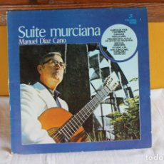 Discos de vinilo: LP MANUEL DIAZ CANO, SUITE MURCIANA, COLUMBIA 1978. Lote 209418736