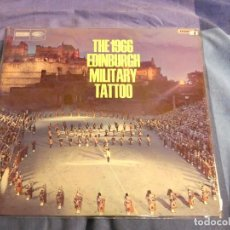 Discos de vinilo: LP MARCHAS MILITARES THE 1966 EDIMBURGH MILITARY TATOO BUEN ESTADO. Lote 209420322