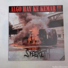 Discos de vinilo: SPEERETH. ALGO HAY QUE QUEMAR. M - 36090. 1993.. Lote 209560235