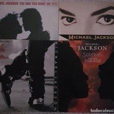 Discos de vinilo: MICHAEL JACKSON. PACK 4 MAXI SINGLES.. Lote 209570995