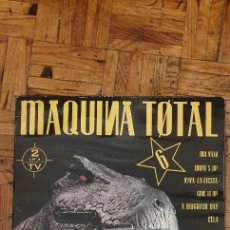 Discos de vinilo: MÁQUINA TOTAL 6 SELLO: MAX MUSIC – NM770LPTV SERIE: MAQUINA TOTAL – 6 FORMATO: 2 × VINYL, LP. Lote 209574852