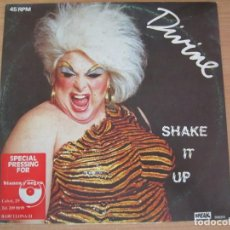 Discos de vinilo: DISCO VINILO DIVINE SHAKE IT UP. Lote 234656480