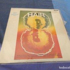 Discos de vinilo: LP ESPAÑOL 1969 BSO DE LA PELI HAIR BUEN ESTADO. Lote 209585708