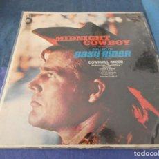 Discos de vinilo: LP USA 1969 MIDNIGHT COWBOY - EASY RIDER BSO BUEN ESTADO NECESITA LIMPIEZA. Lote 209586200