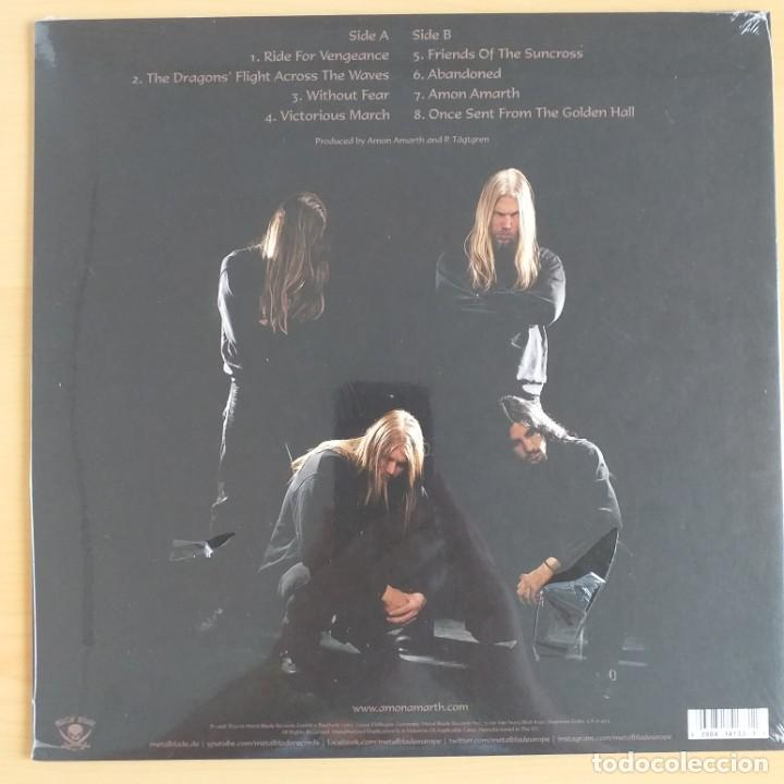 Discos de vinilo: AMON AMARTH - ONCE SENT FROM THE GOLDEN HALL (LP) PRECINTADO !!!!! DEATH, VIKING METAL. - Foto 2 - 209588252