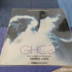 Discos de vinilo: LP BSO DE LA PELI GHOSHT FRANCIA 1990 ESTADO CORRECTO. Lote 209590063