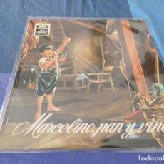 Discos de vinilo: EDICION DE LOS AÑOS 70 DEL LP DE 1958 MARCELINO PAN Y VINO. Lote 209590375