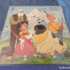Discos de vinilo: HEIDI LP HISTORIA COMPLETA 1975 BUEN ESTADO. Lote 209590575