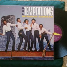 Discos de vinilo: THE TEMPTATIONS LP SURFACE THRILLS 1983 ORIG USA VG+ SOUL. Lote 209592030