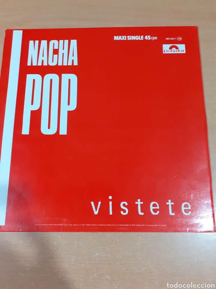 Discos de vinilo: Disco vinilo nacha pop - máxi lp vístete - lucha de gigantes - buen estado - ver fotos - Foto 2 - 209593600