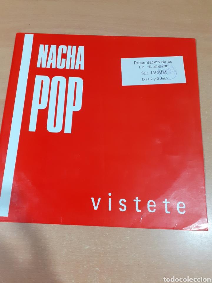 DISCO VINILO NACHA POP - MÁXI LP VÍSTETE - LUCHA DE GIGANTES - BUEN ESTADO - VER FOTOS (Música - Discos de Vinilo - Maxi Singles - Rock & Roll)