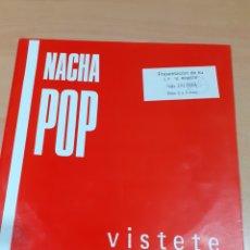 Discos de vinilo: DISCO VINILO NACHA POP - MÁXI LP VÍSTETE - LUCHA DE GIGANTES - BUEN ESTADO - VER FOTOS. Lote 209593600