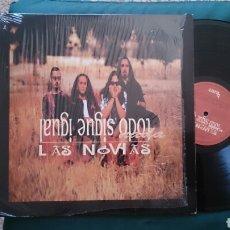Discos de vinilo: LAS NOVIAS LP TODO NADA SIGUE IGUAL 1994 CON ENCARTE COMO NUEVO HEROES DEL SILENCIO BUNBURY. Lote 209597370
