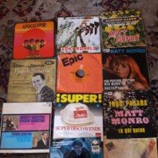 Discos de vinilo: LOTE DE 12 ANTIGUOS VINILOS, DIVERSOS ARTISTAS INTERNACIONALES. Lote 209597433