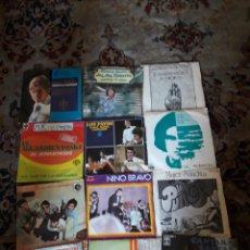 Discos de vinilo: LOTE DE 12 ANTIGUOS VINILOS DE DIVERSOS ARTISTAS ESPAÑOLES. Lote 209598580