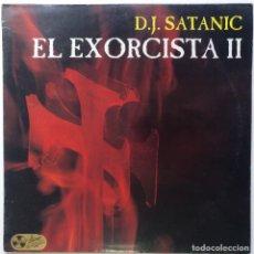 "Discos de vinilo: DJ SATANIC - EL EXORCISTA II [EXCLUSIVO DIFÍCIL CONSEGUIR] MAKINA / TECHNO [VALENCIA 12"" 45RPM] 1993. Lote 209598690"