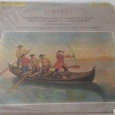 Discos de vinilo: VINILO GRIEG.CAUDAL CLÁSICO.. Lote 209601060