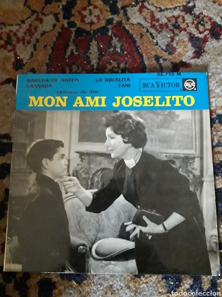 ANTIGUO VINILO DE JOSELITO, EDITADO EN FRANCIA (Música - Discos de Vinilo - Maxi Singles - Solistas Españoles de los 50 y 60)