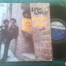 Discos de vinilo: DIANA ROSS AND THE SUPREMES LP LOVE CHILD 1968 ORIG USA MOTOWN. Lote 209607277