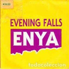 Discos de vinilo: ENYA - EVENIG FALLS - SINGLE PROMO SPAIN 1988. Lote 221233387