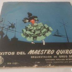 Discos de vinilo: VINILO EL MAESTRO QUIROGA.. Lote 209609583