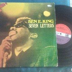 Discos de vinilo: BEN E. KING LP SEVEN LETTERS ORIG HOLLAND SOUL RARO. Lote 209610175