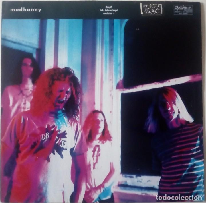 MUDHONEY...THIS GIFT B/W BABY HELP ME FORGET. (GLITTERHOUSE RECORDS 1989) EUROPE..SOLO CARATULA... (Música - Discos de Vinilo - Maxi Singles - Pop - Rock - New Wave Internacional de los 80)