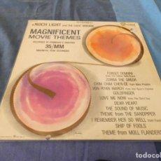 Discos de vinilo: LP USA ANTIQUISIMO ENOCH LIGHT AND THE LIGHT BRIGADE MAGNIFICENT MOVE THEMES. Lote 209632660
