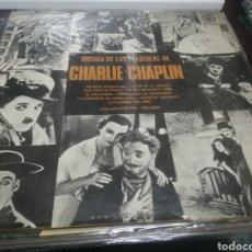 Discos de vinilo: LP BSO DE LAS PELICULAS DE CHARLIE CHAPLIN MICHEL VILLARD BUEN ESTADO. Lote 209632698