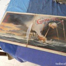 Discos de vinilo: LP LA GUERRA DE LOS MUNDOS EN ESPAÑOL PORTADA CHUNGA VINILOS BASTANTE BIEN. Lote 209632801