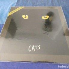Discos de vinilo: LP 1983 TEMAS SELECCIONADOS DEL MUSICAL CATS BUEN ESTADO 1983. Lote 209632807