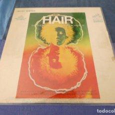 Discos de vinilo: LP BSO DE LA PELI HAIR USA 70S BUEN ESTADO LABEL NARANJA. Lote 209633140