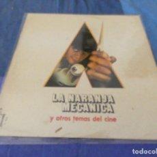 Discos de vinilo: LP LA NARANJA MECANICA Y OTROS TEMAS DEL CINE 1976 OLYMPO ALGUNA LINEA FINA NO ESTA MAL. Lote 209633200