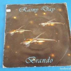 Discos de vinilo: SINGLE / BRANDO / RAINY DAY, 1984 (ITALO DISCO). Lote 209641342
