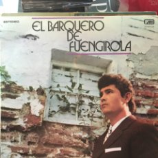 Discos de vinilo: EL BARQUERO DE FUENGIROLA+JOSE DE LA VEGA-1972-MUY BUEN ESTADO. Lote 209642068