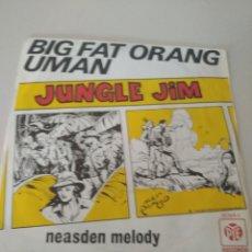 Discos de vinilo: SINGLE JUNGLE JIM BIG FAT ORANG UMAN NEASDEN MELODY REF. UR. Lote 209646405