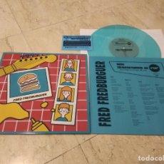Discos de vinilo: FRED FREDBURGUER- NEW ADVENTURES IN POP- MINI LP-COLOR-2020-( JUNIPER MOON, COLA JET SET, NOSOTRÄSH). Lote 209661475