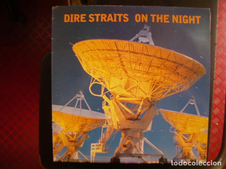 DIRE STRAITS- ON THE NIGHT. 2 LPS. (Música - Discos de Vinilo - Singles - Pop - Rock Extranjero de los 80)